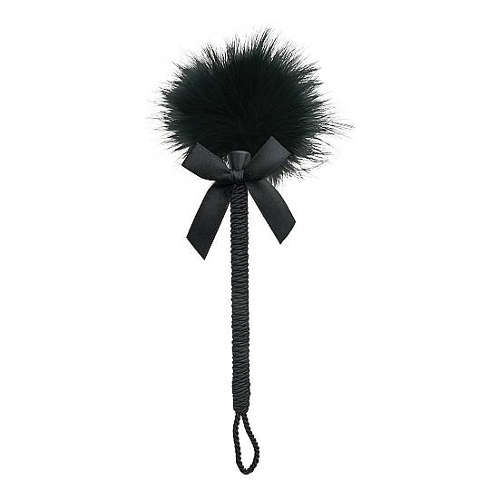 FEATHER TICKLER - NEGRO - Juguetes Sexuales Estimuladores Plumas - Sex Shop ARTICULOS EROTICOS