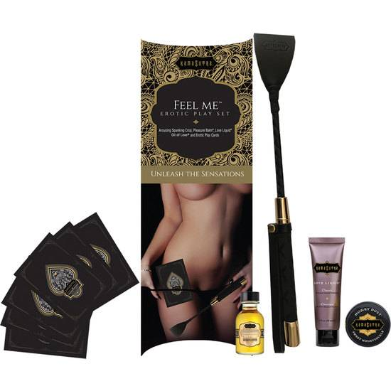 JUEGO KAMA SUTRA FEEL ME PLAYSET - BDSM Bondage Kit - Sex Shop ARTICULOS EROTICOS