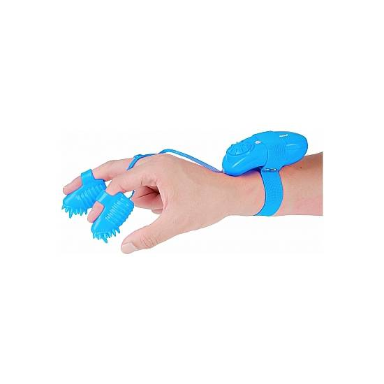 MAGIC TOUCH FINGER FUN -  ESTIMULADOR DEDAL AZUL - Juguetes Sexuales Estimuladores Clitoris - Sex Shop ARTICULOS EROTICOS