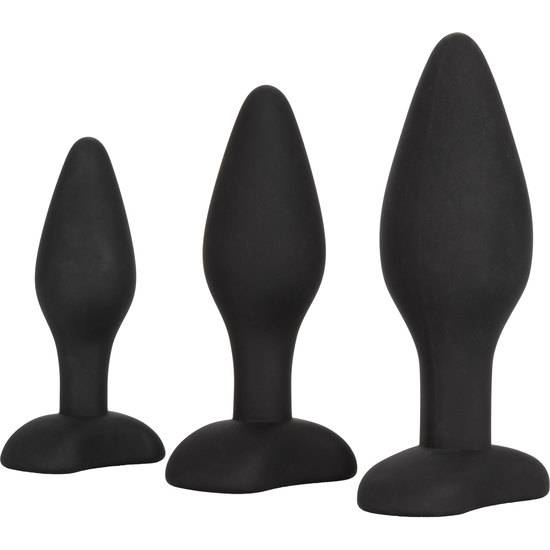 KIT PLUG ANAL SILICONA - Juguetes Sexuales  Anales Kits - Sex Shop ARTICULOS EROTICOS
