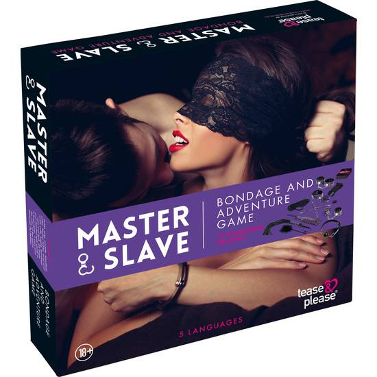 MASTER SLAVE KIT BDSM PARA PAREJAS MORADO - BDSM Bondage Kit - Sex Shop ARTICULOS EROTICOS