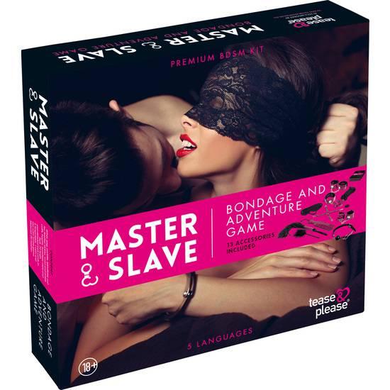 MASTER SLAVE KIT BDSM PARA PAREJAS ROSA - BDSM Bondage Kit - Sex Shop ARTICULOS EROTICOS