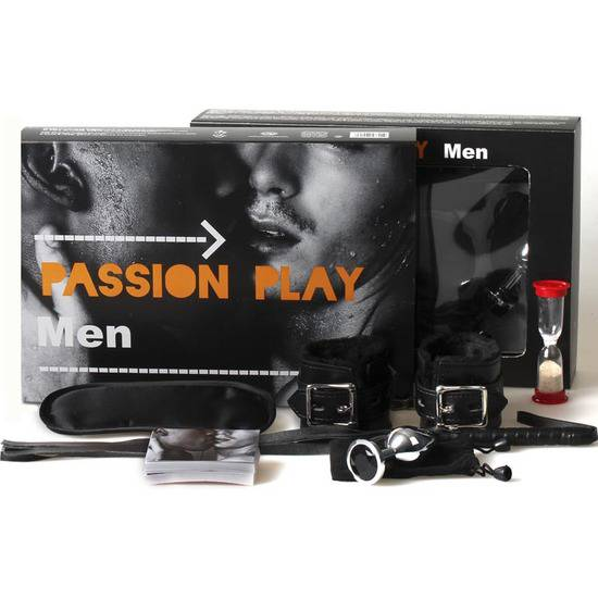 JUEGO PASSION PLAY MEN - Español / Portugués - Juguetes Sexuales Kit - Sex Shop ARTICULOS EROTICOS