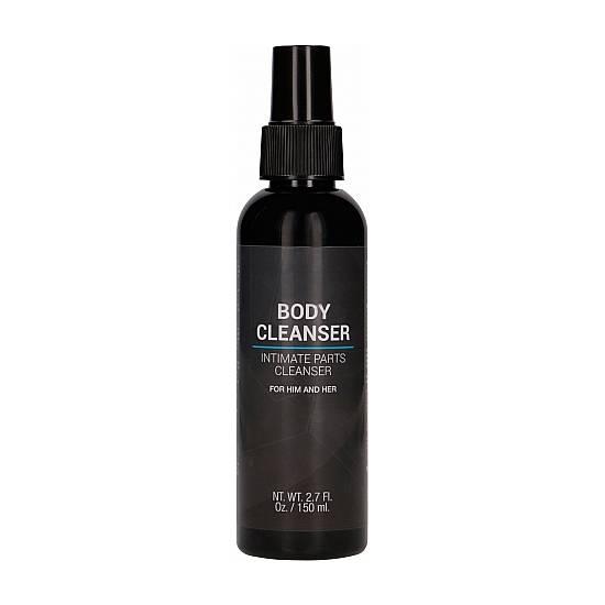 BODY CLEANSER LIMPIADOR MASCULINO - 150ML - Cuidado Íntimo Higiene - Sex Shop ARTICULOS EROTICOS