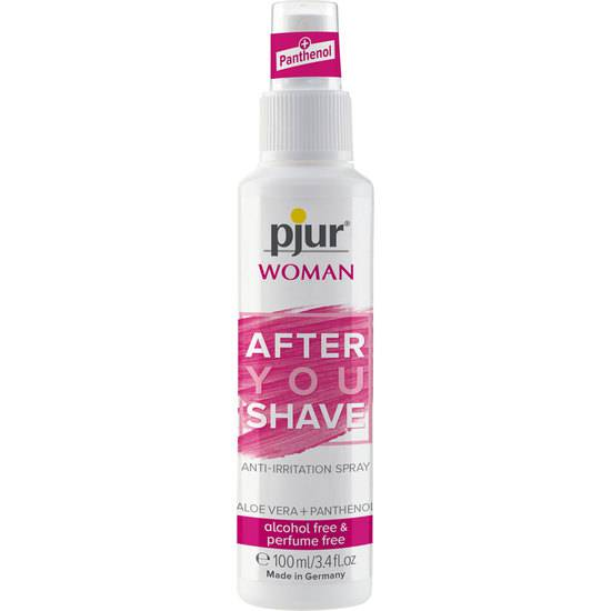 PJUR WOMAN AFTER SHAVE SPRAY 100ML - Cosmética Erótica Cremas Femeninas - Sex Shop ARTICULOS EROTICOS