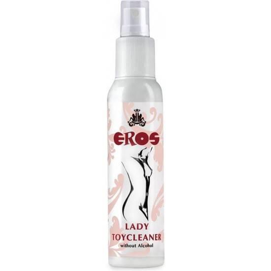 EROS LADY LIMPIADOR DE JUGUETES SIN ALCOHOL 100ML - Higiene Jueguetes Eróticos - Sex Shop ARTICULOS EROTICOS