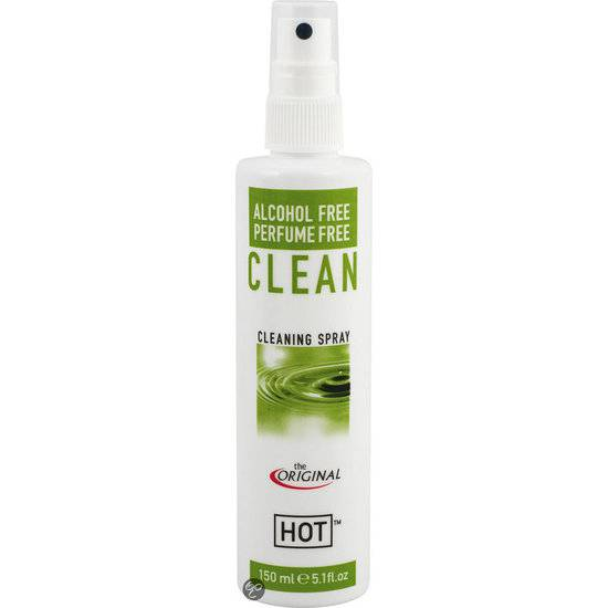 HOT CLEAN LIMPIADOR DE JUGUETES 150 ML - NEDERLAND | JUGUETES XXX LIMPIEZA Y CONSERV. | Sex Shop