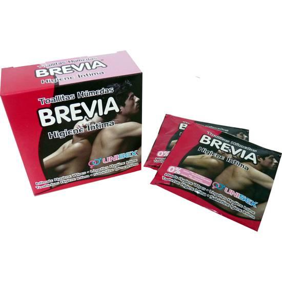 TOALLITAS INDIVIDUALES BREVIA INTIMA 6 UDS. - Higiene Jueguetes Eróticos - Sex Shop ARTICULOS EROTICOS