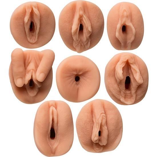 ALL STAR PORN STAR  KIT MASTURBADORES GANG BANG - Juguetes Sexuales Masturbadores Vaginas - Sex Shop ARTICULOS EROTICOS