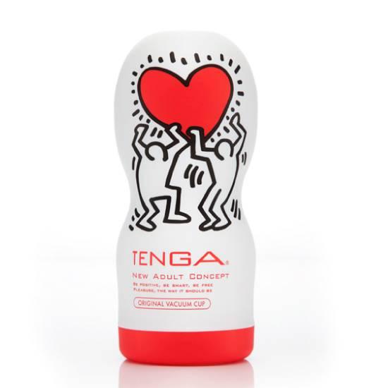 TENGA KEITH HARING GARGANTA PROFUNDA - Juguetes Sexuales Masturbadores para EL- Sex Shop ARTICULOS EROTICOS