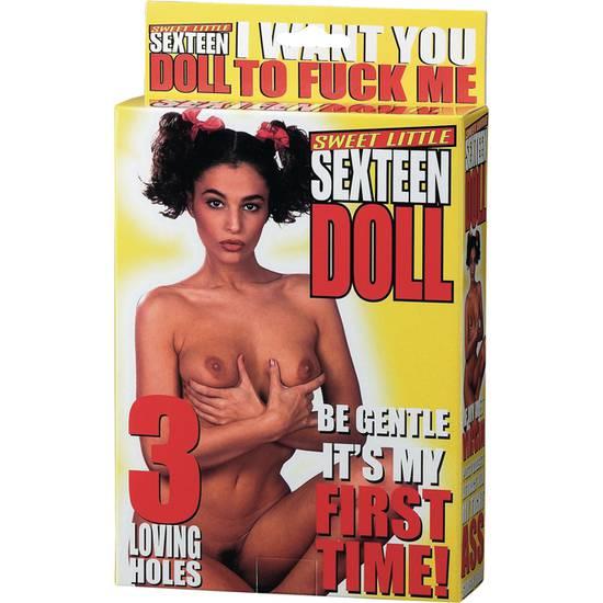 SWEET LITTLE SEXTEEN DOLL - Juguetes Sexuales Masturbadores Muñecos - Sex Shop ARTICULOS EROTICOS
