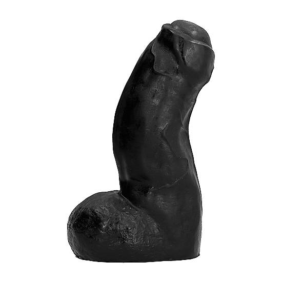 ALL BLACK PENE REALÍSTICO 17CM - Pene Realistico Consolador - Sex Shop ARTICULOS EROTICOS