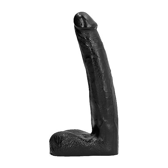 ALL BLACK PENE REALÍSTICO 21CM - Pene Realistico Consolador - Sex Shop ARTICULOS EROTICOS