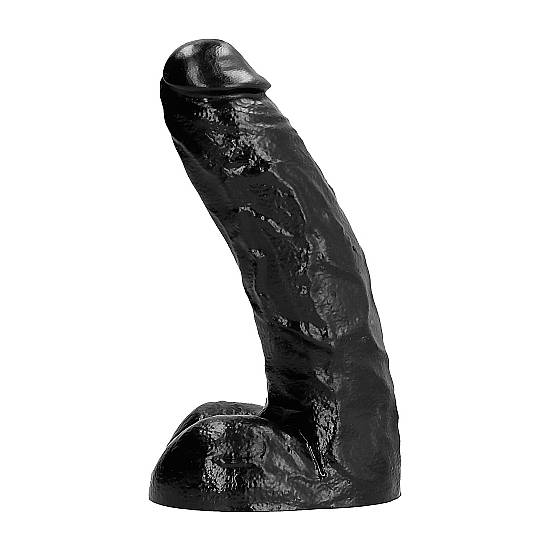 ALL BLACK PENE REALÍSTICO 25,5CM - Pene Realistico Consolador - Sex Shop ARTICULOS EROTICOS