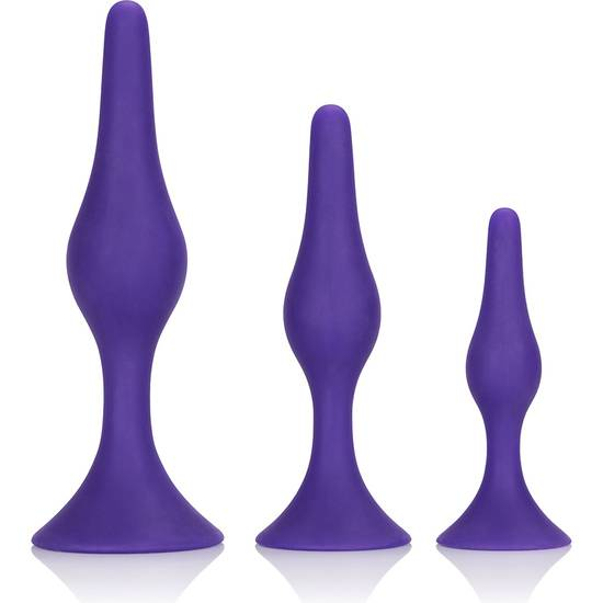 BOOTY CALL BOOTY TRAINER KIT MORADO | JUGUETES XXX PLUGS | Sex Shop