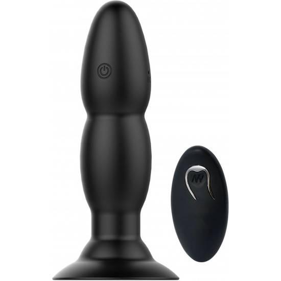 JUBILATION PLUG VIBRADOR - NEGRO - Juguetes Sexuales Anal Vibrador - Sex Shop ARTICULOS EROTICOS