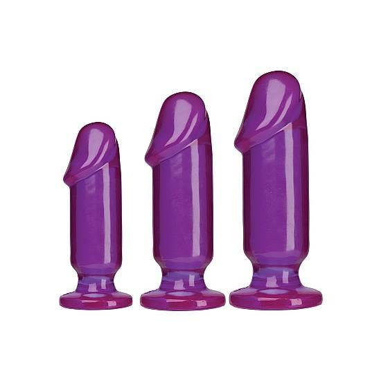 KIT ANAL PARA PRINCIPIANTES MORADO - Juguetes Sexuales  Anales Kits - Sex Shop ARTICULOS EROTICOS