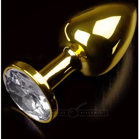 PLUG ANAL JEWELLERY SMALL ORO / DIAMANTE - Juguetes Sexuales Anales Anal - Sex Shop ARTICULOS EROTICOS