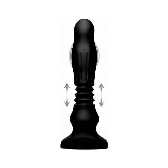 PLUG DE SILICONA SWELLING & THRUSTING - Juguetes Sexuales Anales Anal - Sex Shop ARTICULOS EROTICOS