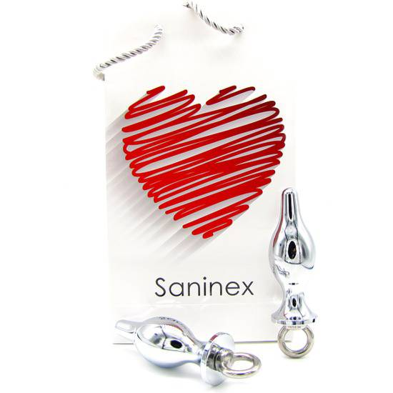 SANINEX PLUG METAL EXTREME RING | JUGUETES XXX PLUGS | Sex Shop