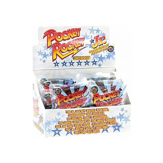 POCKET ROCKET - JR. - DISPLAY - 12UDS - Juguetes Sexuales Vibradores Discretos - Sex Shop ARTICULOS EROTICOS