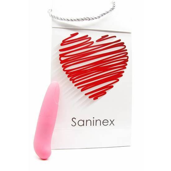 SANINEX MINI VIBRADOR MULTI EXCITING WOMAN COLOR ROSA - Juguetes Sexuales Vibradores Discretos - Sex Shop ARTICULOS EROTICOS