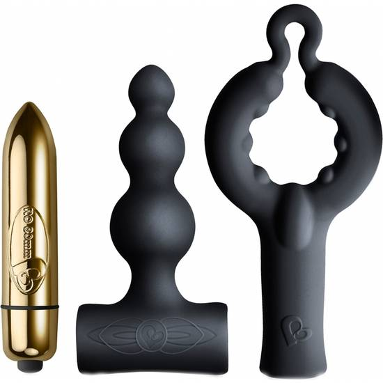 SET VIBRADOR - Juguetes Sexuales Kit - Sex Shop ARTICULOS EROTICOS