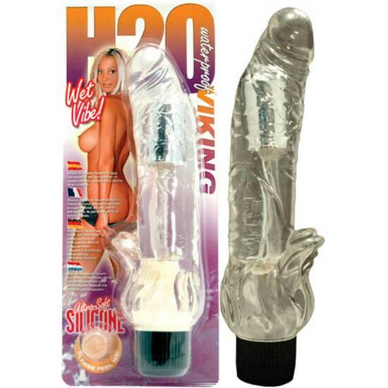 VIBRADOR IMPERMEABLE H2O VIKING - Vibrador Pene Vibrador - Sex Shop ARTICULOS EROTICOS