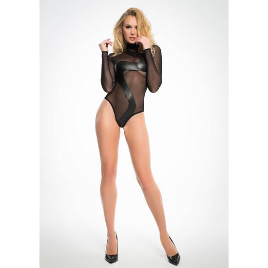 ALIXX WILD BODY CON TRANSPARENCIAS - Lenceria Sexy Femenina Bodys - Sex Shop ARTICULOS EROTICOS