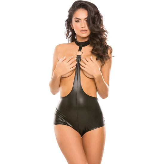 ALMOST TOPLESS ROMPER - Lenceria Sexy Femenina BDSM - Sex Shop ARTICULOS EROTICOS