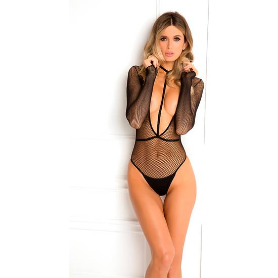 BODY PLUNGE HARNESS SET - Lenceria Sexy Femenina Bodys - Sex Shop ARTICULOS EROTICOS