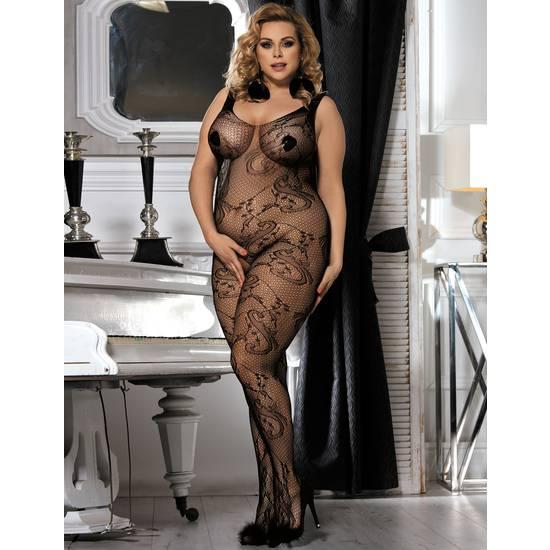 BODY SOFT SHEET NEGRO - Talla S/M | LENCERIA BODYS | Sex Shop