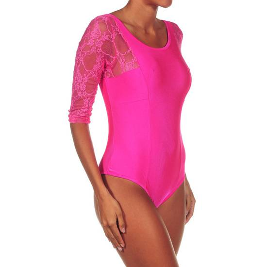 INTIMAX BODY PAMELA FUCSIA - Talla S/M | LENCERIA BODYS | Sex Shop