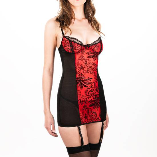 INTIMAX CORPIÑO SECRETO ROJO - Talla M | LENCERIA BODYS | Sex Shop