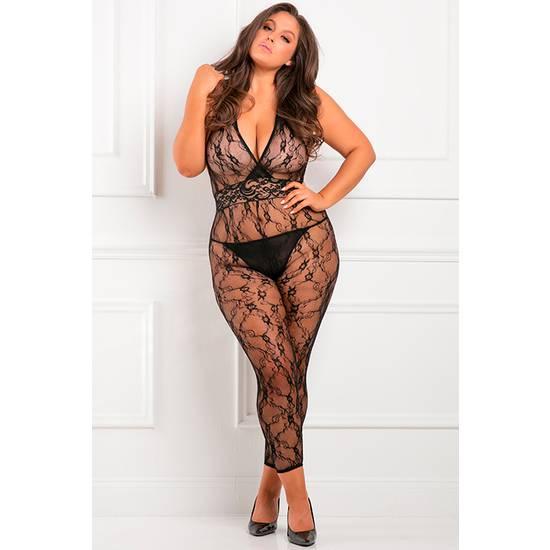 LACY MOVIE BODY DE MALLA - NEGRO - Lenceria Sexy Femenina BDSM - Sex Shop ARTICULOS EROTICOS