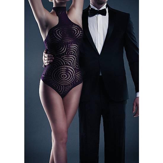LE DESIR BODY GISELLE HALTER MORADO - Lenceria Sexy Femenina Bodys - Sex Shop ARTICULOS EROTICOS