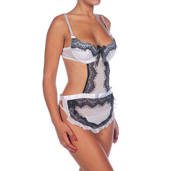 OFERTA INTIMAX BODY NATASHA BLANCO - Talla L/XL | LENCERIA BODYS | Sex Shop
