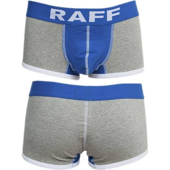 BOXER ALGODÓN PUSH UP SPORT GRIS DE RAFF - lenceria Sexy Masculina Boxer - Sex Shop ARTICULOS EROTICOS