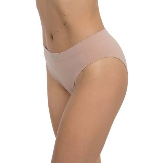 BIKINI BÁSICO SIN COSTURAS PACK 3UDS COLOR BLANCO/BEIGE/NEGRO - Talla L | LENCERIA BRAGUITAS Y TANGAS | Sex Shop