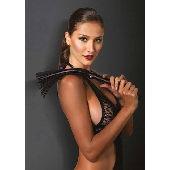 LATIGO AZOTADOR CUERO MINI CORAZONES - Látigos BDSM Bondage - Sex Shop ARTICULOS EROTICOS