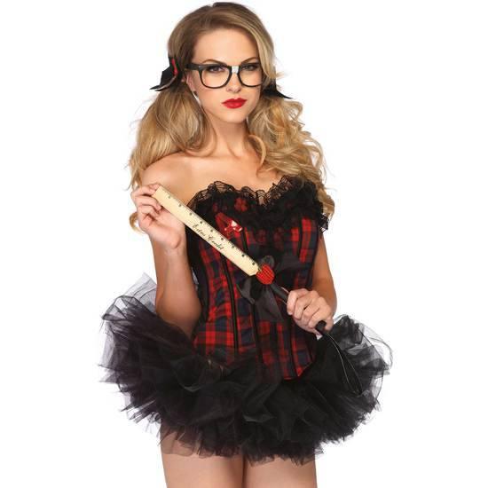 LEG AVENUE COMPLEMENTOS DISFRAZ PROFESORA - Disfraces Eróticos Disfraz - Sex Shop ARTICULOS EROTICOS