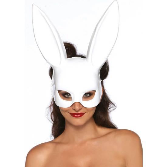 LEG AVENUE MASCARA GRANDE OREJITAS DE CONEJO BLANCA - juegos Eroticos-Accesorios Fiestas Mascaras-SexShop ARTICULOS EROTICOS