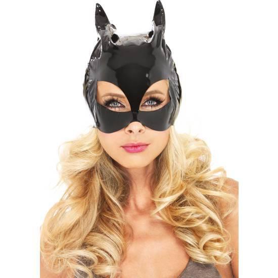 LEG AVENUE MASCARA VINILO CAT WOMAN - juegos Eroticos-Accesorios Fiestas Mascaras-SexShop ARTICULOS EROTICOS