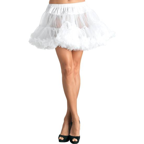 LEG AVENUE PETTICOAT BLANCA - Disfraces Eróticos Disfraz - Sex Shop ARTICULOS EROTICOS