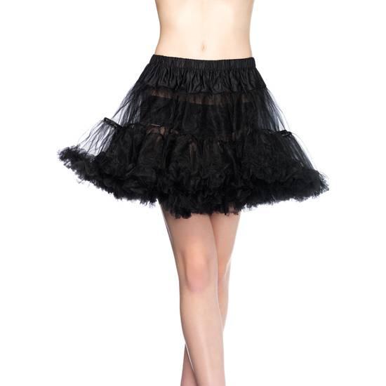 LEG AVENUE PETTICOAT NEGRA - Disfraces Eróticos Disfraz - Sex Shop ARTICULOS EROTICOS