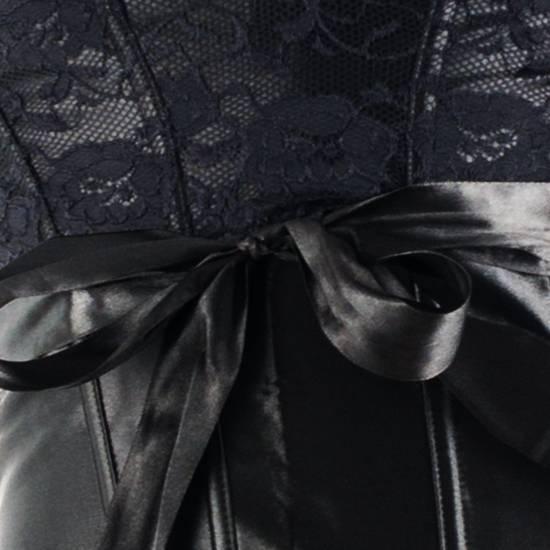 CARAMEL NUIT - SET DE CORSET CON TANGA A JUEGO + ESPOSAS + ANTIFAZ + TANGA LOVE & DREAM - Lenceria Bondage - SEXSHOP