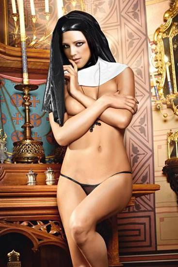 BACI CONJUNTO DISFRAZ DE MONJA - Disfraces Eróticos - Sex Shop ARTICULOS EROTICOS