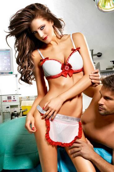 BACI DISFRAZ DE ENFERMERA - Disfraces Eróticos - Sex Shop ARTICULOS EROTICOS