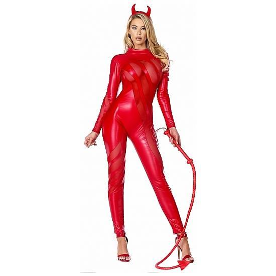 DISFRAZ VILE VIXEN SEXY DEVIL - juegos Eroticos-Accesorios Fiestas Mascaras-SexShop ARTICULOS EROTICOS