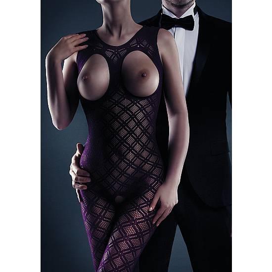 LE DESIR MALLA MAISIE MORADO - Lenceria Sexy Femenina Bodys - Sex Shop ARTICULOS EROTICOS
